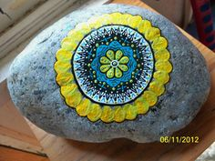 Rock Mandala 2.. By Laura Newman
