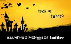 Trick or Tweet? #halloween #twitter #infographic