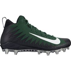 new style 70200 3d9d0 Men s Nike LunarBeast Strike Pro D Football Cleats White Black