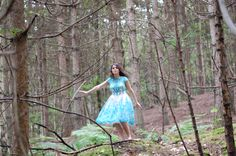 Dance in the woods #forest #photoshoot #nature #chichiclothing