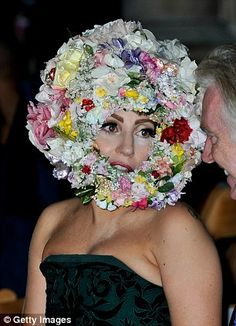 Bad wedding guest outfits   Sometimes you can go to far with flowers on your hat