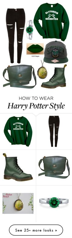 """Untitled #19"" by catalinaloete on Polyvore featuring Burberry, BERRICLE and Dr. Martens"