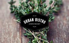 Restaurant Branding: Urban Bistro