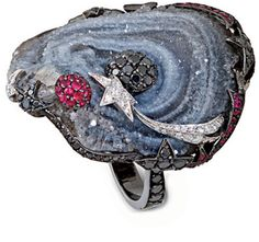 Cosmic Ring by Lydia Courteille