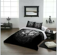 Skull bed set~anyone know where to get one just like this?
