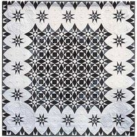 storm at sea quilt patterns | Quilt Inspiration: Beautiful in black and white: Storm at Sea pattern ...