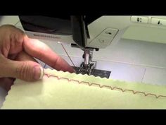 Bernina 380 17 Utility Stitches - YouTube
