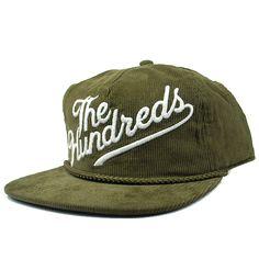 The Hundreds Slant Snapback Hat (Olive) $28.95