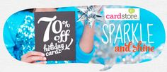 70% off Holiday Cards & Invites at Cardstore- great deal for your holiday cards!
