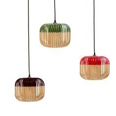 suspension bambou noir h20cm bamboo bambou. Black Bedroom Furniture Sets. Home Design Ideas