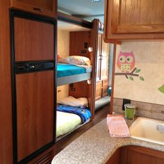 Spruce Up The Vacation RV Cute Bed Linens And Fun Accents Make It Homey