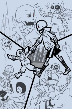 Feck — [Swap route] The timeline where Sans is totally a...