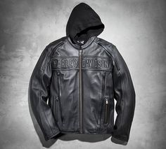 For maximum versatility and piece of mind choose the Road Warrior 3-in-1 Leather Jacket. The removable hooded vest can be worn separately or under the jacket for an extra layer of warmth providing three different wear options.