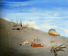 SALVADOR DALI STUDY FOR HONEY IS SWEETER THAN BLOOD_ 1927