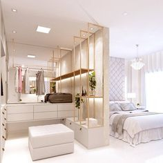[New] The Best Home Decor (with Pictures) These are the 10 best home decor today. According to home decor experts, the 10 all-time best home decor. Luxury Bedroom Design, Bedroom Closet Design, Home Room Design, Home Interior Design, Bedroom Decor Pictures, Home Decor Bedroom, Stylish Bedroom, Suites, Bedroom Styles
