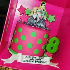Disney Zombie Birthday Cake Cakes I Create Pinterest