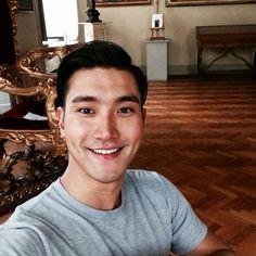 Choi Siwon. That smile kills me