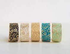Ringe - VORBESTELLBARl Patina Messing Ring freie Wahl - ein Designerstück von MiMaMeise bei DaWanda
