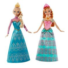 Frozen Disney Princess Sisters Royal Ball Dolls Pack #DisneyFrozen