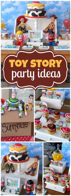 Check out this Toy Story birthday party with awesome decorations!  See more party ideas at CatchMyParty.com!