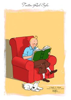 Tintin red sofa - Andy Santoso אני מקווה שהבנת את הנקודה:-)