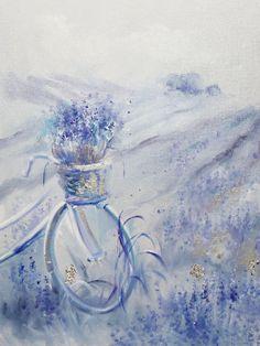 Картины цветов ручной работы. Ярмарка Мастеров - ручная работа. Купить Provence. Handmade. Картина на холсте, теплая картина