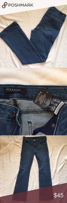 """Stitchfix Liverpool bootcut jeans - Size 10 Perfect condition. 31"""" inseam. Liverpool Jeans Company Jeans Boot Cut"""