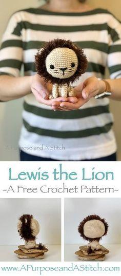 Mesmerizing Crochet an Amigurumi Rabbit Ideas. Lovely Crochet an Amigurumi Rabbit Ideas. Lion Crochet, Crochet Amigurumi Free Patterns, Crochet Doll Pattern, Crochet Geek, Cute Crochet, Crochet Animals, Crochet Dolls, Crochet Gifts, Stitch Crochet