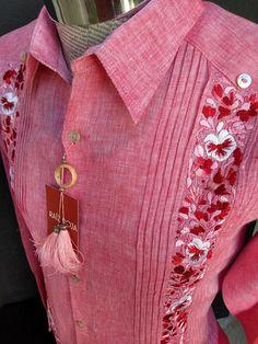 Pakistani Fashion Casual, Indian Men Fashion, Chemises Country, Wedding Day Shirts, Chemise Fashion, Guayabera Shirt, Kurta Men, Mexican Shirts, Sleeves Designs For Dresses