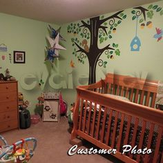 Items similar to Kids Wall Decal - Animals in the Wood - Nursery Kids Removable Wall Vinyl Decal - on Etsy Kids Wall Decals, Wall Stickers Home Decor, Vinyl Decals, Wall Vinyl, Wall Decor, Wood Nursery, Nursery Ideas, Bedroom Ideas, Burton