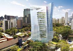 Vitra edificio  #DanielLibeskind #green #building     http://www.infomoney.com.br/minhas-financas/imoveis/noticia/2575092/Predio-Sao-Paulo-eleito-dos-dez-melhores-mundo#