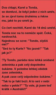 ♥SMĚJEME SE PRO ZDRAVÍ♥ - diskuse.Dáma.cz Jokes Quotes, Memes, Funny Texts, Haha, Comedy, Funny Pictures, Feelings, Pictures, Good Morning