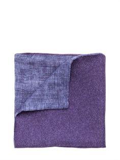 Double Color Silk Blend Pocket Square on shopstyle.com $130