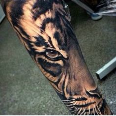 "50 Tiger Tattoo Designs for daredevils like ""YOU"" - Latest Fashion Trends"