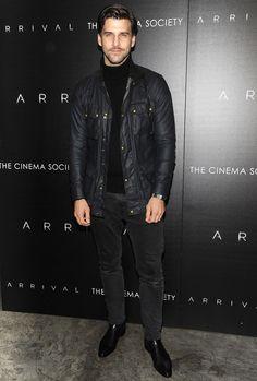 The Best Dressed Men Of The Week: Johannes Huebl at The 2016 British Fashion Awards, London. #bestdressedmen #johanneshuebl