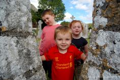 A Round Tower, some Viking history, two church ruins and the latest Ruin Hunter recruits. School Terms, Round Tower, The New School, Three Kids, History, Couple Photos, Couple Shots, Historia, Couple Photography