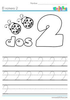 El número dos: http://edufichas.com/actividades/matematicas/numeros/el-numero-2/