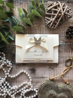 One of last months completed orders. My Downton pocketfold with a butterfly broach. Keeping the colours simple with ivory and Butterfly Wedding Invitations, Bespoke Wedding Invitations, Pocketfold Invitations, Invites, Luxury Wedding, Invitation Design, Wedding Inspiration, Place Card Holders, Colours
