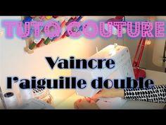 Tutoriel couture: apprenez à dompter l'aiguille double - YouTube