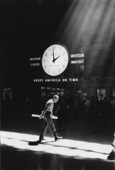 Neil Libbert, Grand Central Station. New York City. 1960