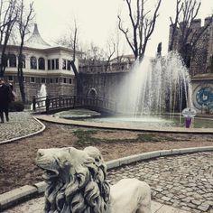 Istanbul 귤하네공원... 역시나 여기도 사자...