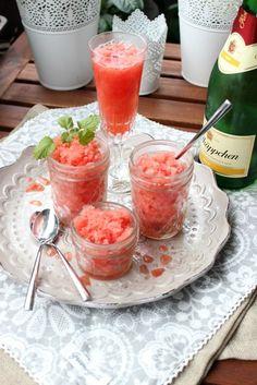 Wassermelonen Granita mit Aperol   SASIBELLA