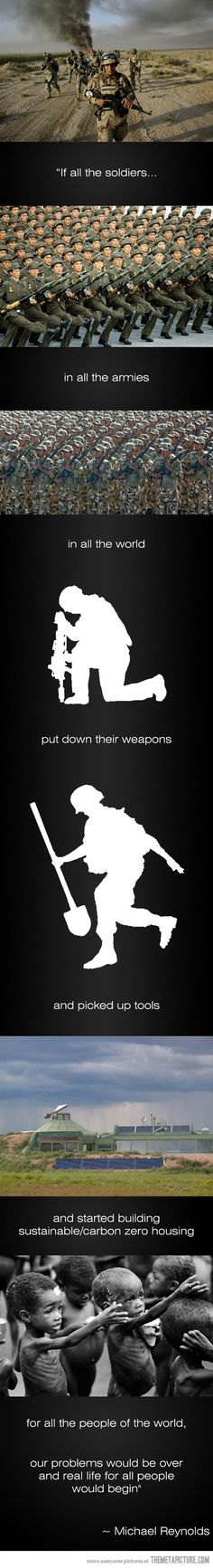 if all the soldiers...