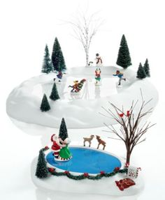Department 56 Village Animated Accesory Collection