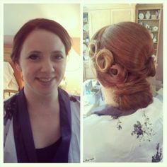 #Wedding #Hair #Vintage