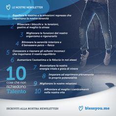 10 COSE CHE NON RICHIEDONO TALENTO