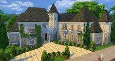 Luxury Mansion by gizky at Mod The Sims