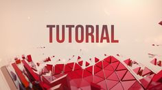 "In this tutorial, I go though the process of making the ""Formation"" Animation. This tutorial includes the Cinema 4D and the After Effects part. Follow me on Twitter: twitter.com/#!/gfxbuddy My ""Formation"" animation: https://vimeo.com/103335681"
