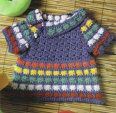 |How to crochet|: Crochet baby dress| for free |crochet Patterns| 19...