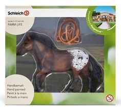 Talans bday to go with mare and foal to make a family - Schleich Western Riding Set: Toys & Games